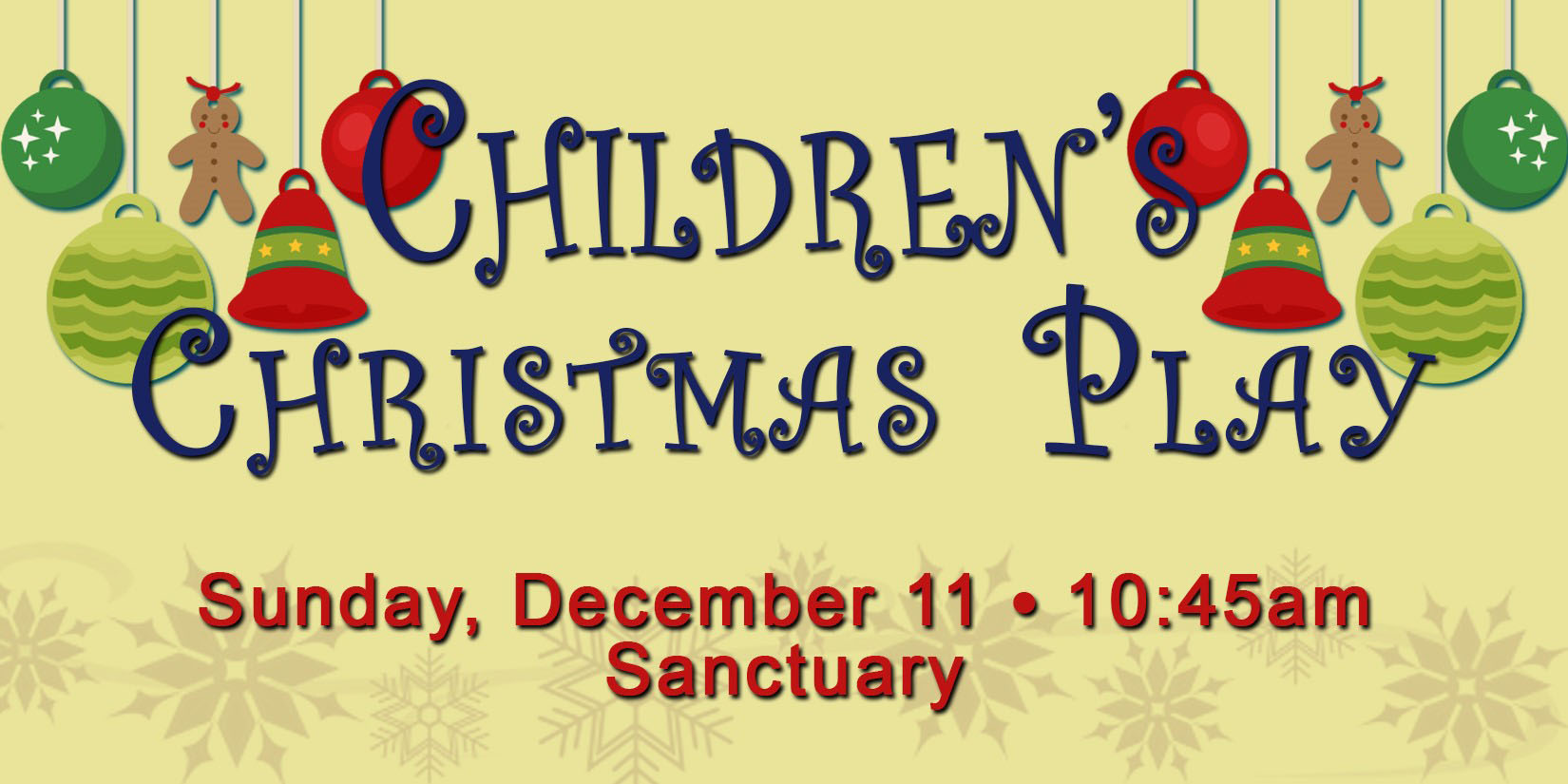 Brentwood Baptist Church – Children's Christmas Play