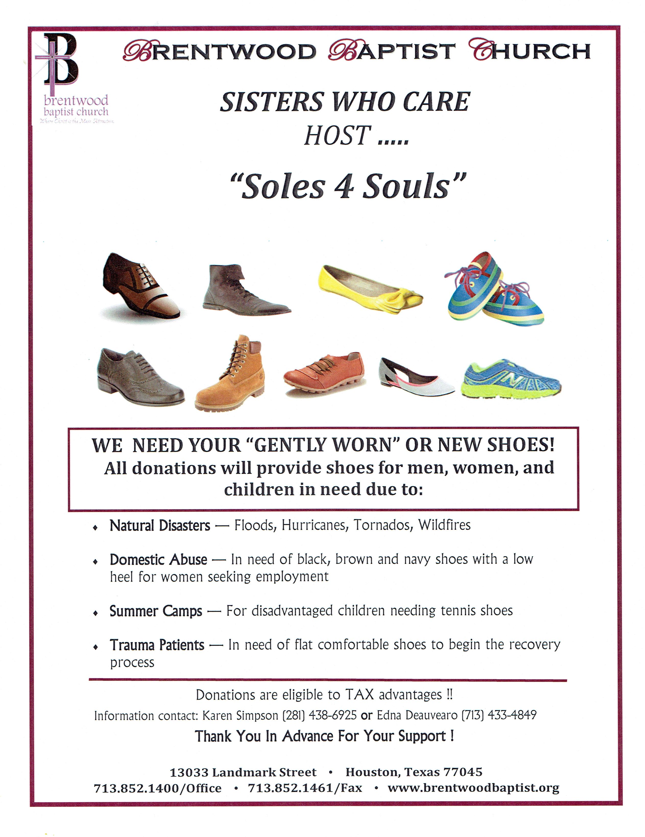 Brentwood Baptist Church – Soles 4 Souls